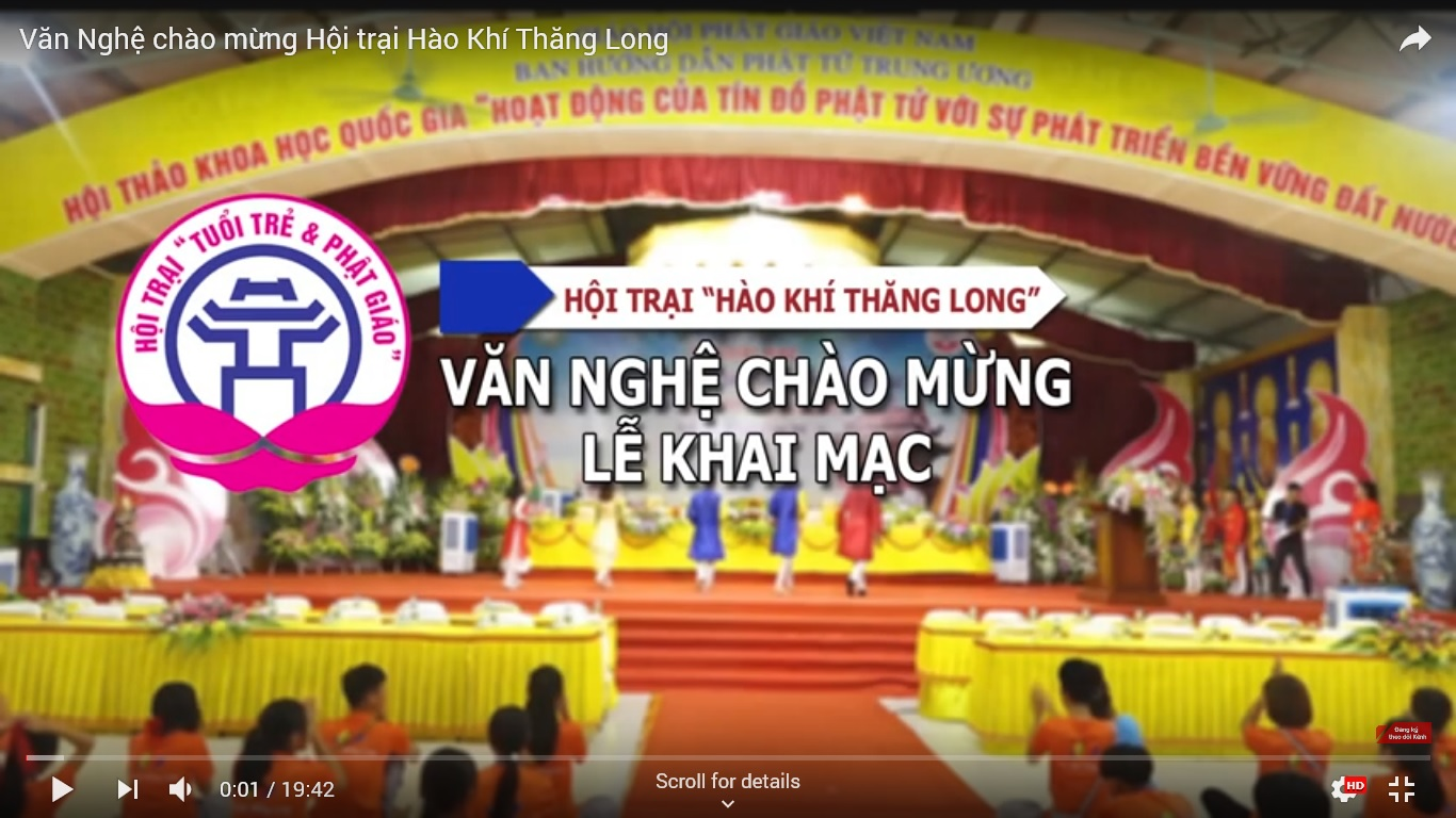 """[Video] Văn Nghệ chào mừng Hội trại """"Hào Khí Thăng Long"""""""