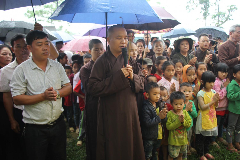 Lễ khởi công xây dựng điểm trường DTBT Đồng Tiến - Yên Thành - Quang Bình - Hà Giang